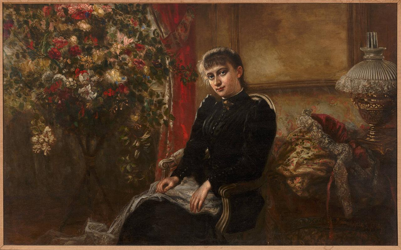 Portrait of Edith Healy