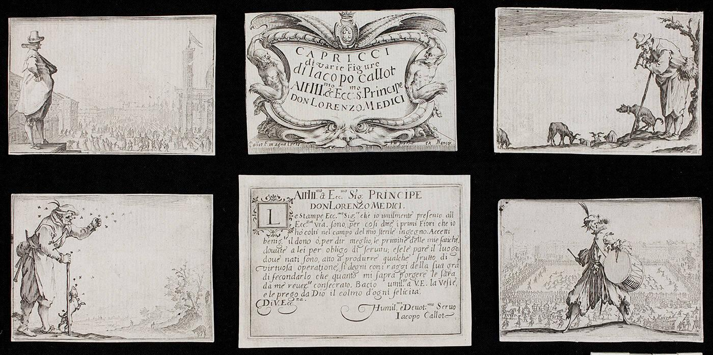 1 of 6 prints from Les Caprices