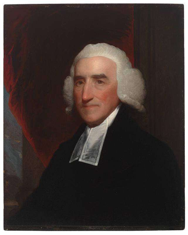 Portrait of Reverend John Lathrop (1740-1816), Pastor of Old North Church, Boston