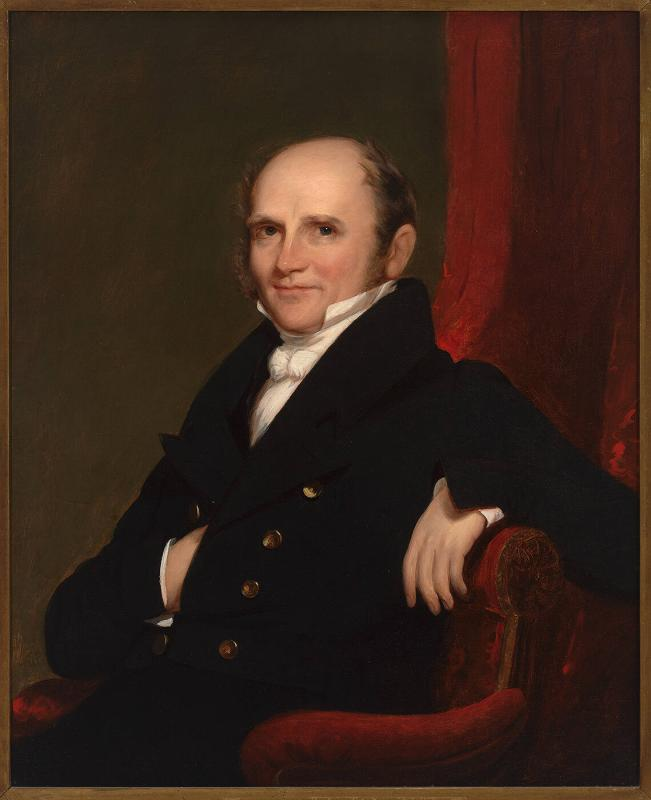 Portrait of Amos Adams Lawrence