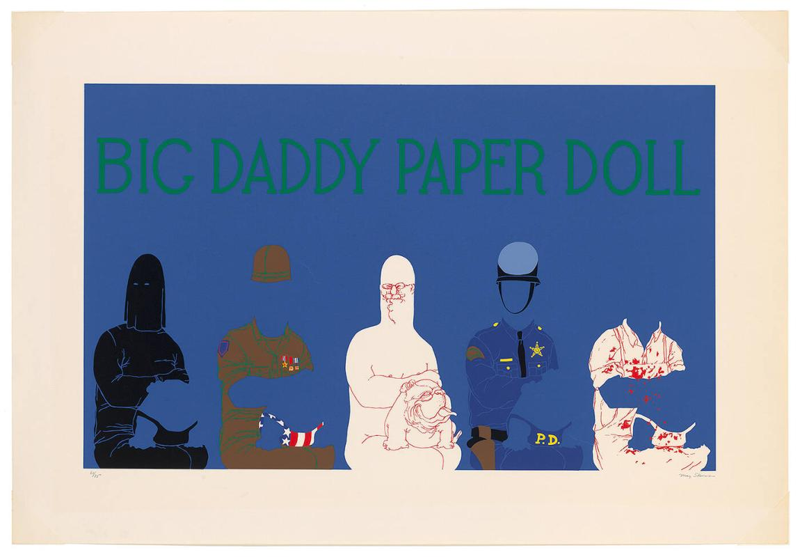 Big Daddy Paper Doll