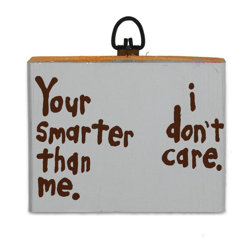 Your smarter than me. I don't care...
