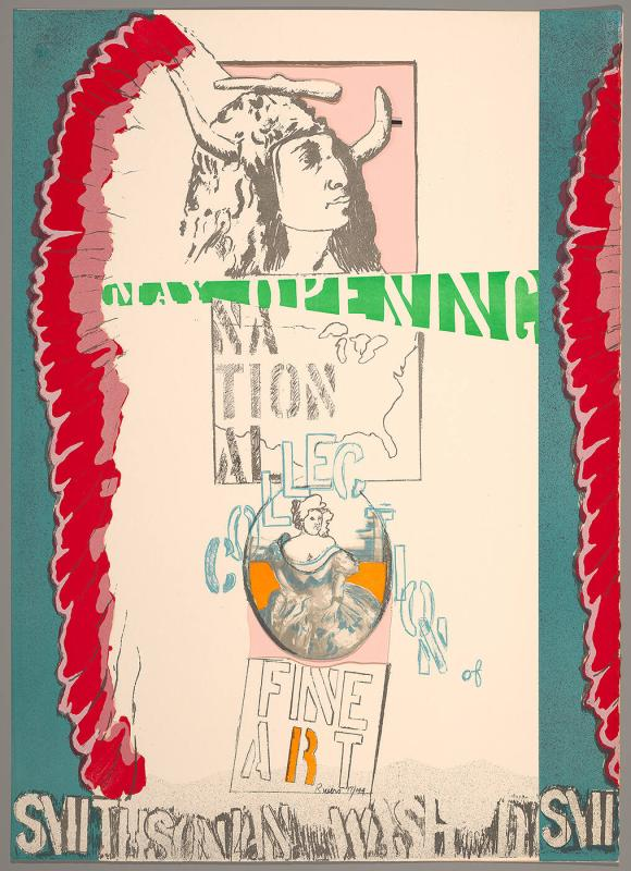 "May Opening, National Collection of Fine Art (from the ""National Collection of Fine Arts Poster Series"")"