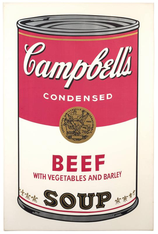 BEEF, Campbell's Soup Can