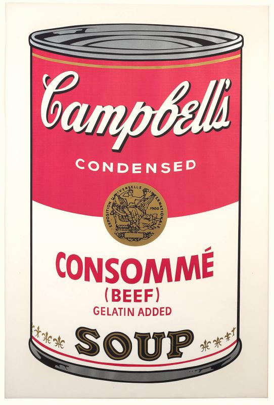 CONSOMMÉ (BEEF), Campbell's Soup Can