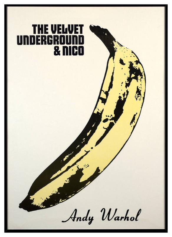 Velvet Underground and Nico (yellow bananas)
