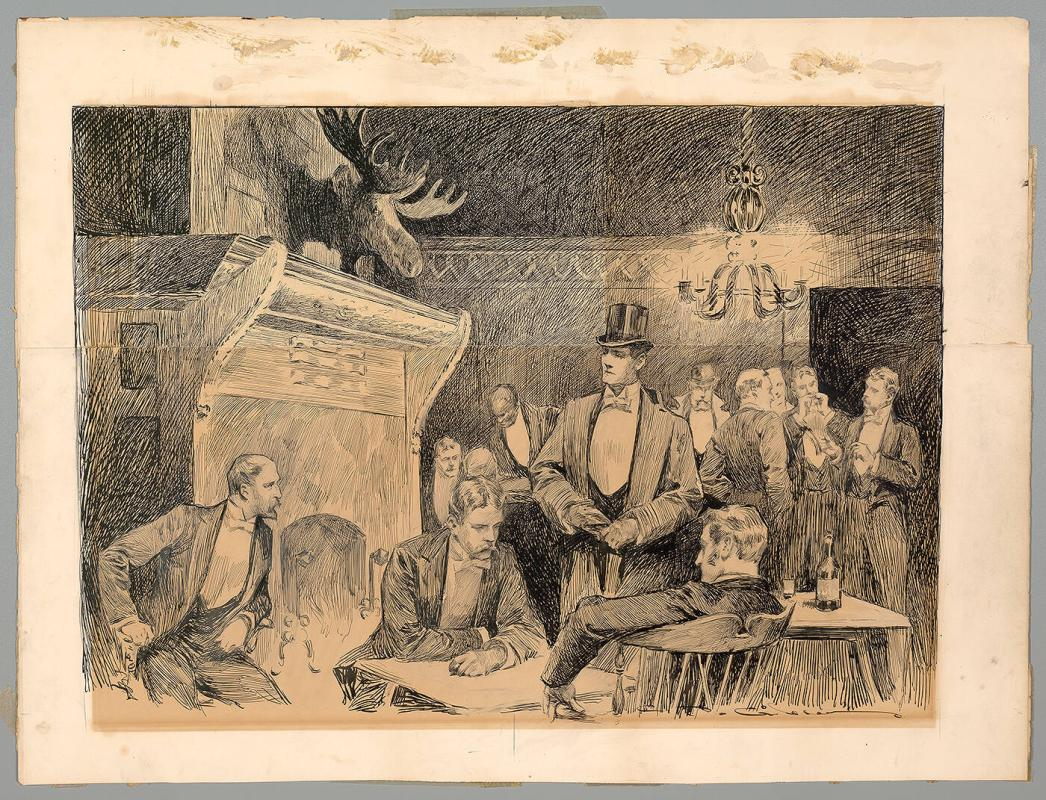 Untitled (Interior of a Social Club)