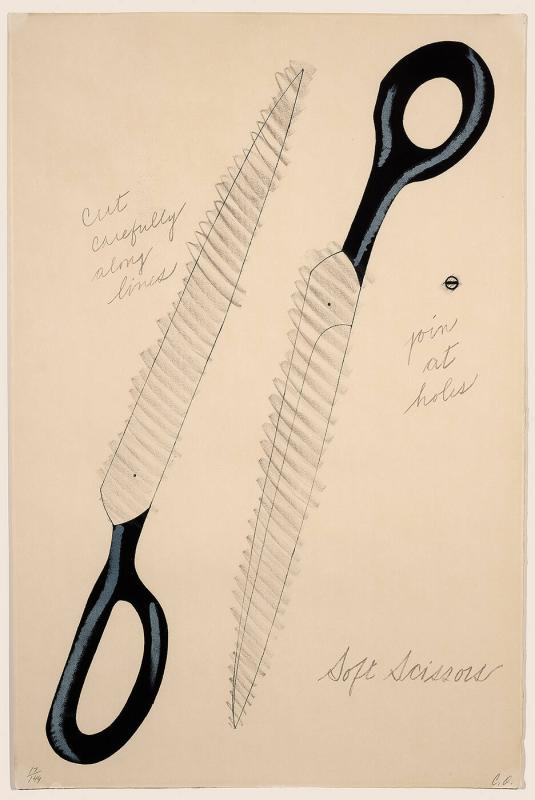 "Soft Scissors (from the ""National Collection of Fine Arts Poster Series"")"