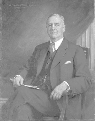 Portrait of Herbert Gutterson (1881-1940), Class of 1904