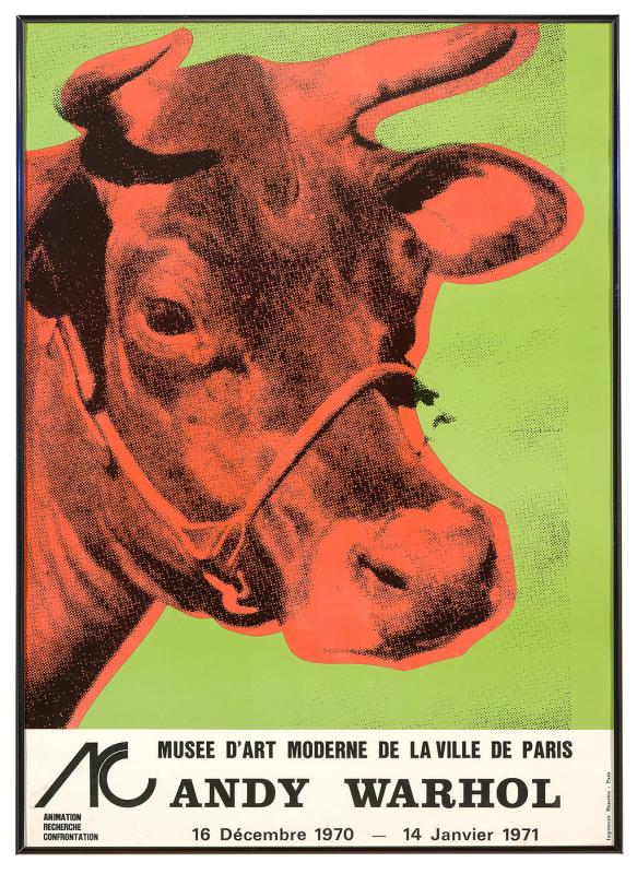 Musee D'Art Moderne de la Ville de Paris (Cow), Dec 16, 1970-Jan 14, 1971