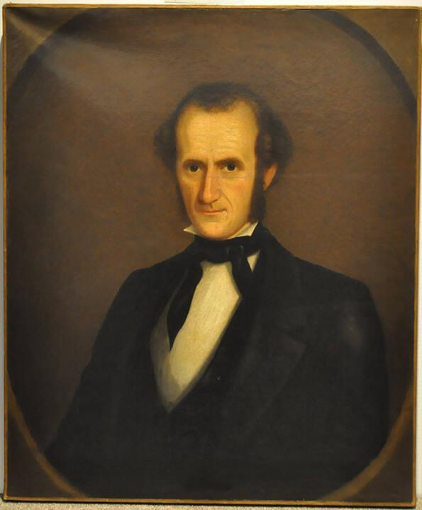 Portrait of Albert Hopkins (1807-1872), Class of 1826, Professor 1829-1872, Tutor 1827-1829