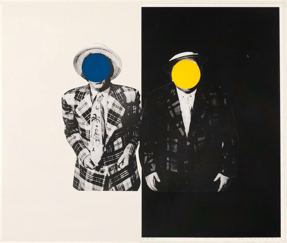 "Blue Boy (with Yellow Boy: One with Hawaiian Tie, One in Dark) (from ""The Indomitable Spirit Portfolio"")"