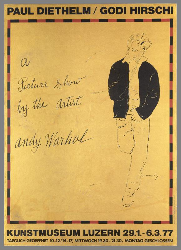 Paul Diethel/M/Hirschi, A Picture Show by the Artist, Andy Warhol, Kunstmuseum Luzern 29.1-6.3.77