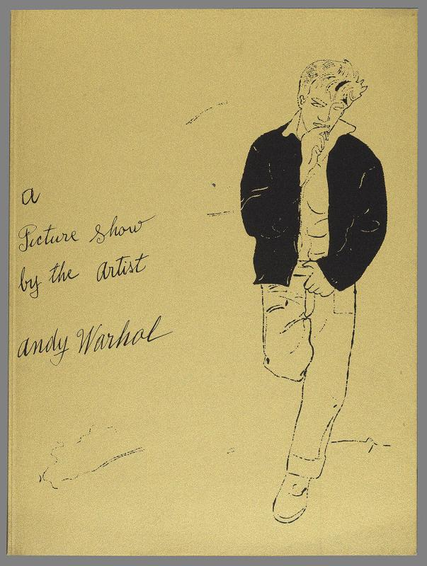 "Invitation to ""A Picture Show by the Artist Andy Warhol"""