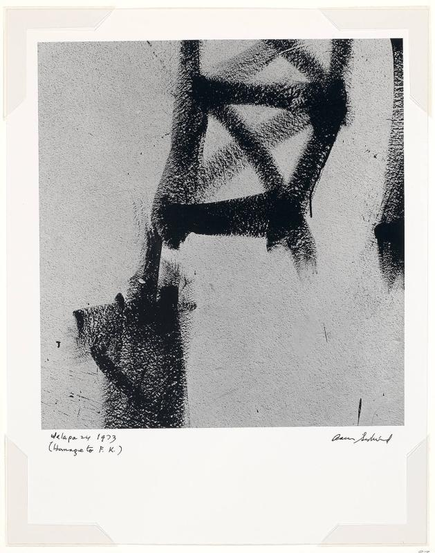 "Jalapa 24 (Homage to Franz Kline) (from ""75th Anniversary Portfolio"")"