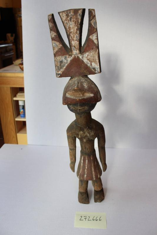 Figure with mask / masquerade figure