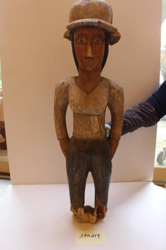 Female Colonial Figure (Colon Figure)