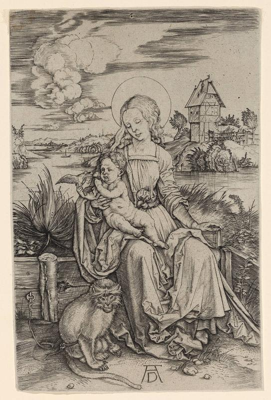 Madonna and Child with the Monkey