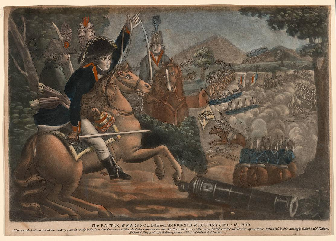 The Battle of Marengo, between the French and Austrians, June 18, 1800