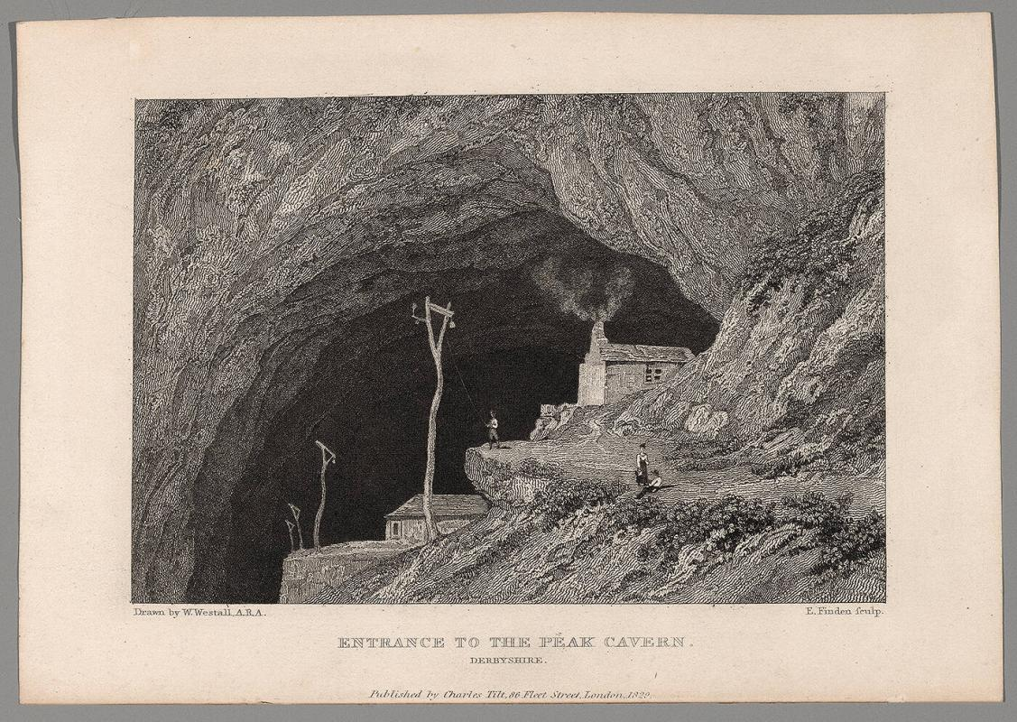 Entrance to the Peak Cavern, Derbyshire