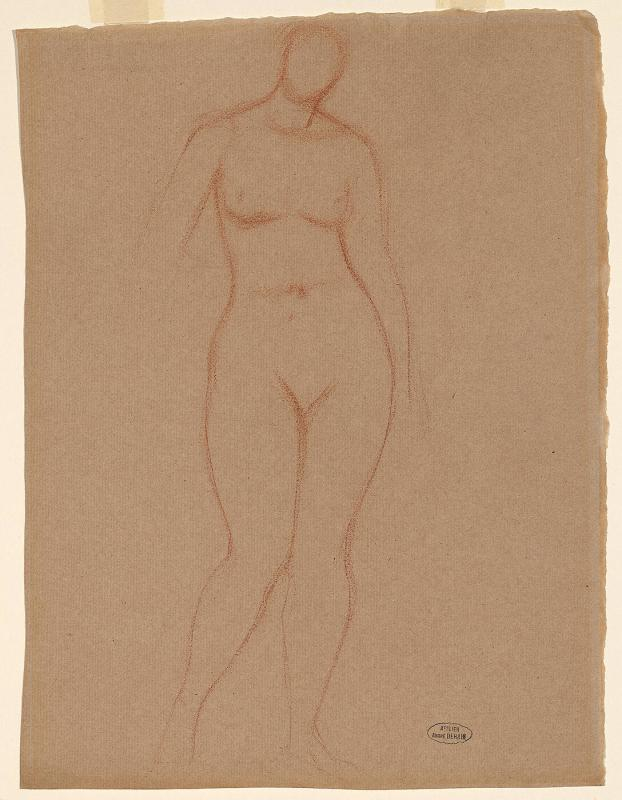 Female Nude-- Standing