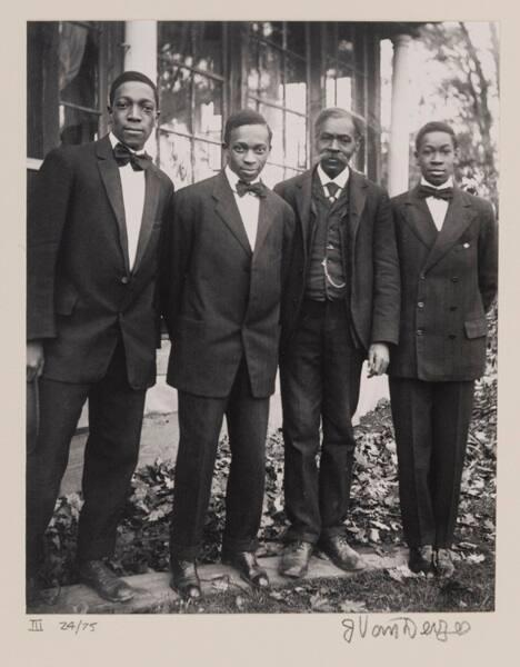 "The Van Der Zee Men, Lenox, Mass. (from ""Eighteen Photographs"")"