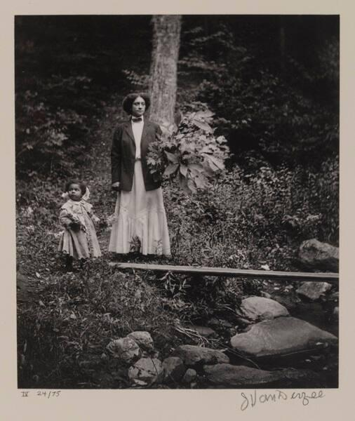 "Kate and Rachel Van Der Zee, Lenox, Mass. (from ""Eighteen Photographs"")"