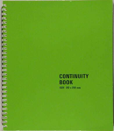 "Continuity Book (from ""Elastic Membrane"")"