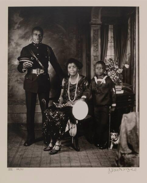 "Garveyite Family, Harlem (from ""Eighteen Photographs"")"