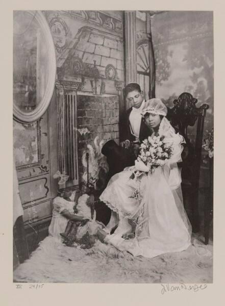 "Wedding Day, Harlem (from ""Eighteen Photographs"")"