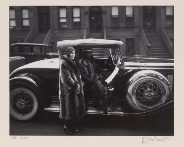 "Couple, Harlem (from ""Eighteen Photographs"")"