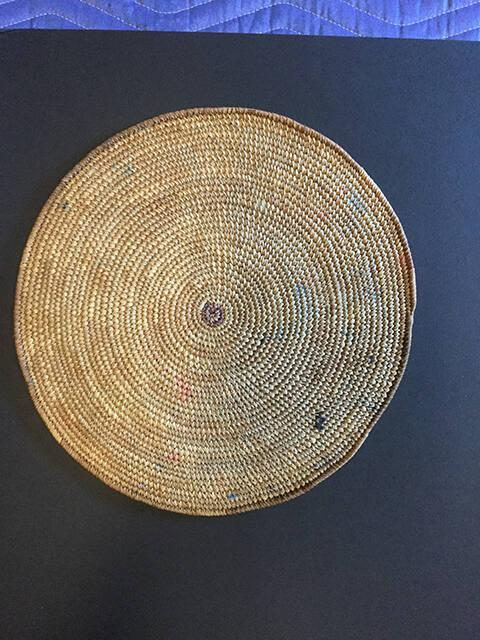 Woven Ware (basket tray?)