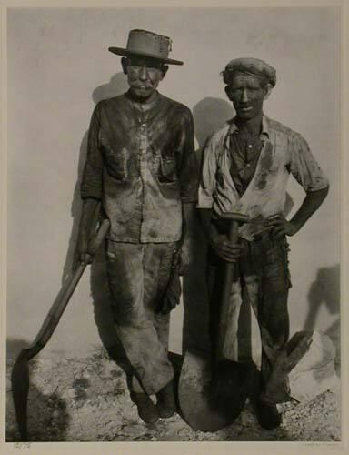 "Dockworkers, Havana (from ""Walker Evans: Selected Photographs"")"