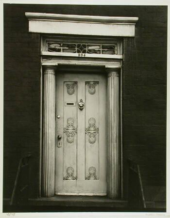 "Doorway, 204 West 13th Street, New York City (from ""Walker Evans: Selected Photographs"""