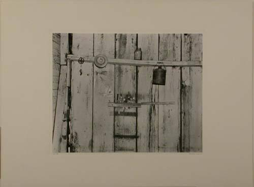 "Kitchen Wall, Alabama Farmstead (from ""Walker Evans: Selected Photographs"")"