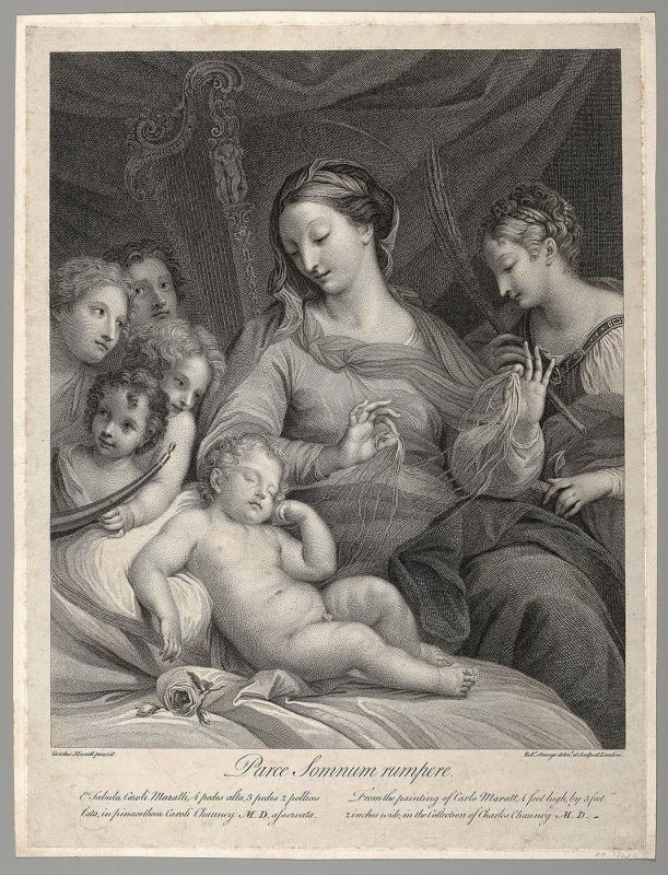 Virgin and Sleeping Child