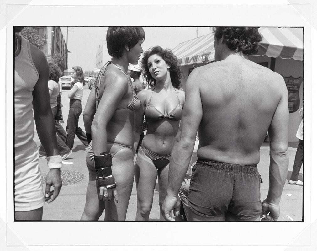 "1979 Venice, California (from ""Women are better than men.  Not only have they survived, they do prevail."")"