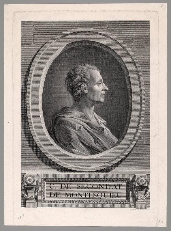 C. de Secondat de Montesquieu