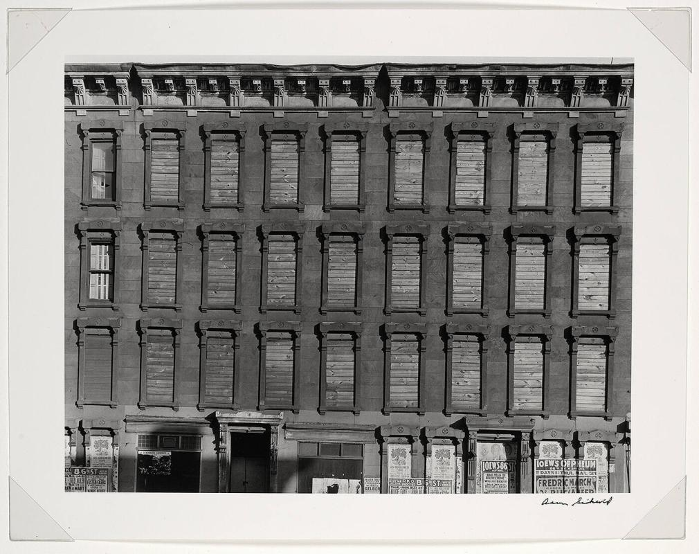 "Facade, Unoccupied Building (from ""Harlem Document"")"