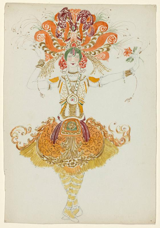 "Costume design for ""The Firebird"""