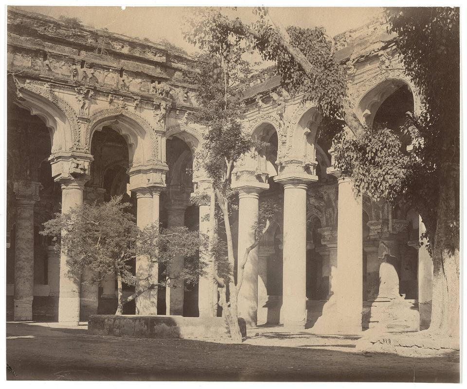 Madura Palace, S.E. angle of the quadrangle