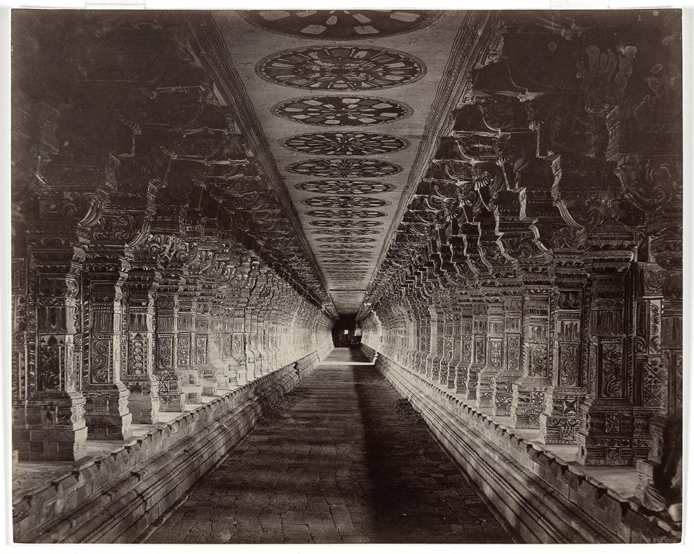 Ramesvaram Temple Corridor, South India