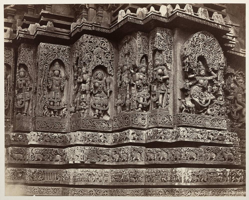 Enlarged Sculpture at Hallabeed (Halebidu)