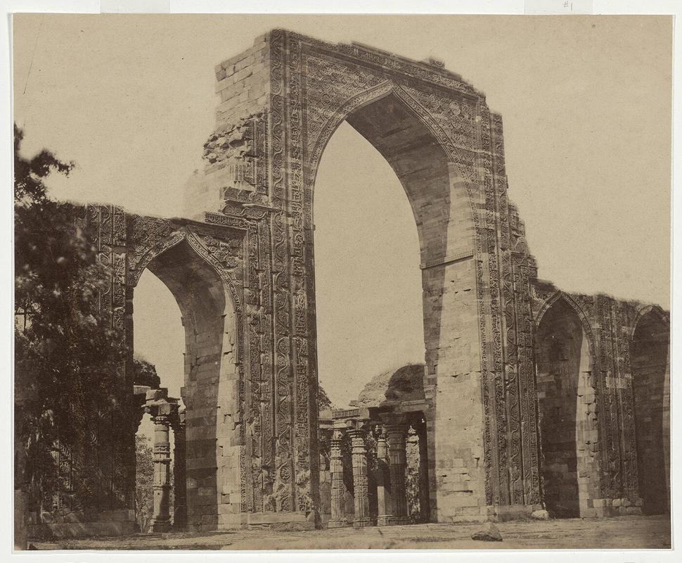 Untitled (Grand Arch of Kootub Musjeed, near Delhi)