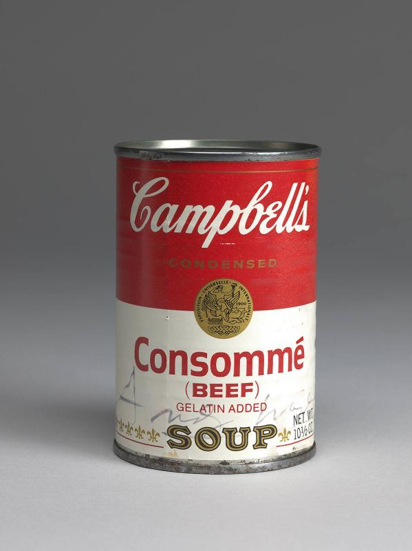 Campbell's Soup Can (Beef  Consommé)