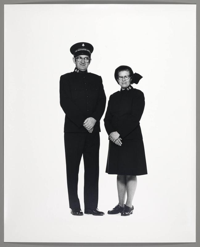 Corning Salvation Army Couple