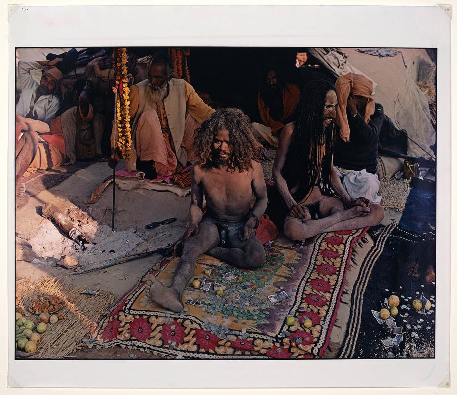 Naked holy men (sadhus) Kumbh Mela Allahabad India