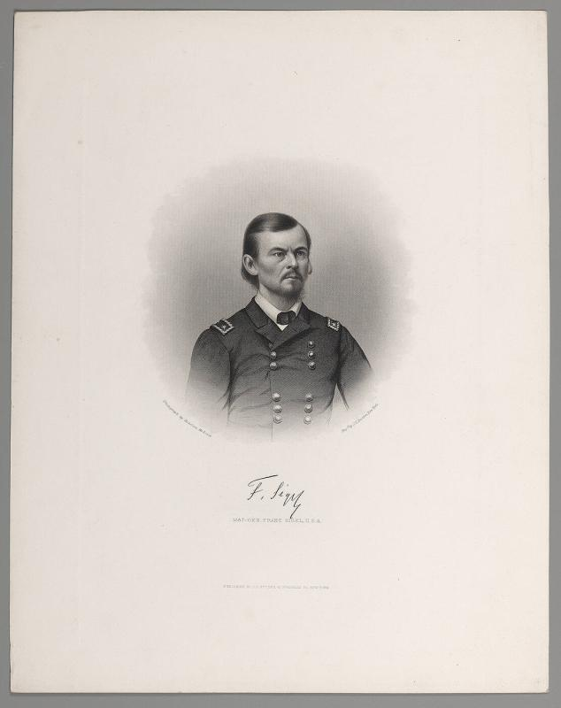 Major General Franz Sigel, U.S.A.