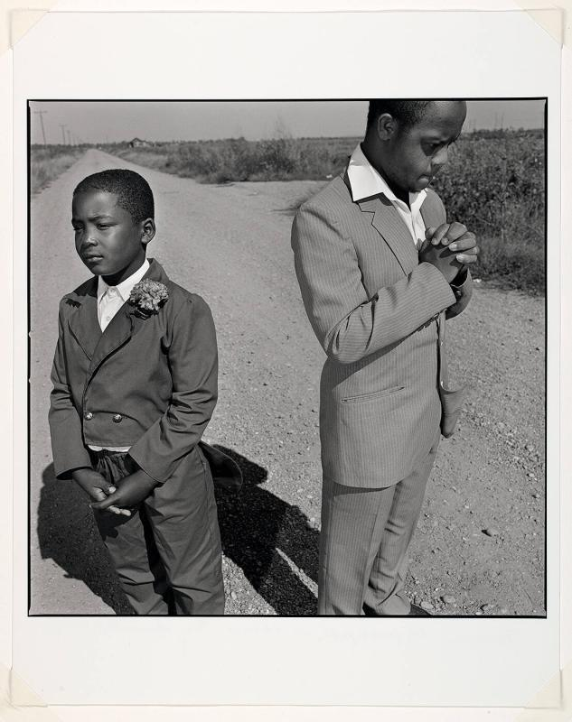 "Two Boys Praying in the Road (from ""In America"")"