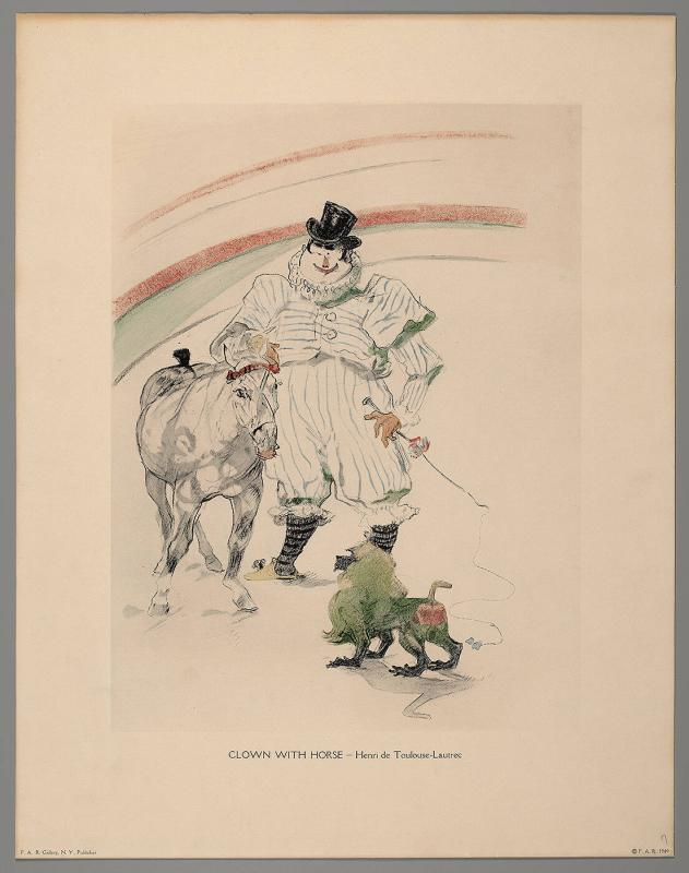 Clown with Horse